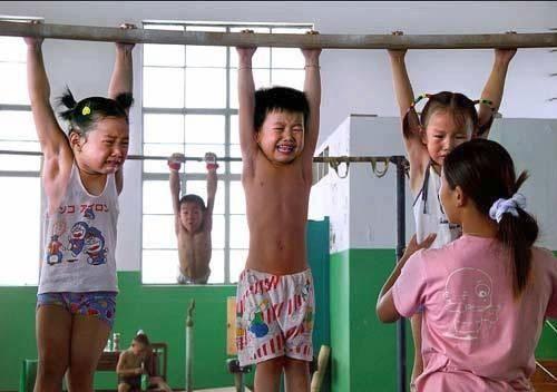 ninos-chinos-entrenando